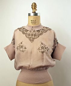 Blouse Date: 1940s
