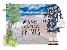 """""""Tropics Marni"""" by ariannapeach ❤ liked on Polyvore featuring Marni, tropicalprints and hottropics"""