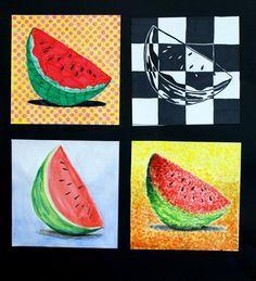 Several art movements - The Art onthe magnolia website! Art Education Lessons, Art Lessons, Middle School Art, Art School, Computer Kunst, 7th Grade Art, Teen Art, Art Worksheets, Art Curriculum