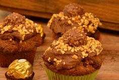 Rocher Muffins auch als Backmischung im Glas