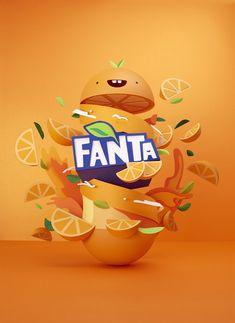 fanta flavorland by lobulo