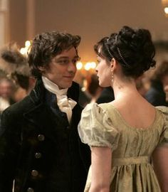 Tom LeFroy. Jane Austen. James McAvoy. Anne Hathaway. Becoming Jane. I love this green dress!