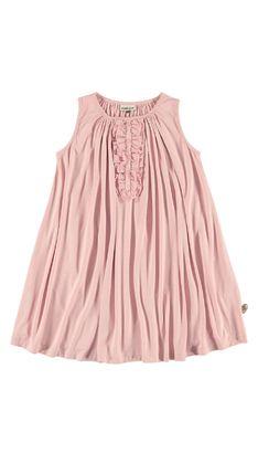 Klänningar  POMPdeLUX har klänningar i många olika färger och passformer. Du hittar inte bara klänningar för festliga eller speciella tillfällen utan även klänningar som är perfekta för vardagens lekar och aktiviteter. I POMPdeLUX klänningssortiment finns något för alla tjejer – stora som små. Så det är bara att välja sin favoritklänning. Våra klänningar finns i storlekarna 80–152 cm och här finns massor av inspiration att hämta till barnens garderob.: BedfordDRESSSS14
