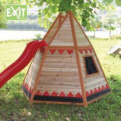 Houten Speelhuis Exit Tipi Indianentent