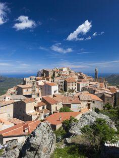 Speloncato, Corsica, France summer childhood memories Corsica, France Travel, Places Ive Been, Beautiful Places, Mansions, City, World, Childhood Memories, Wanderlust