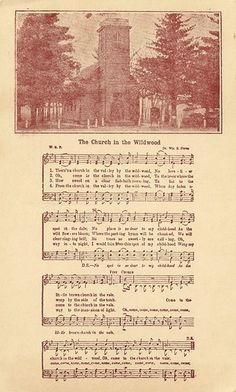 Music - The Church in the Wildwood Sheet Music | Flickr - Photo Sharing!