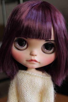 Reserve ooak custom blythe doll by GerakinaDolls on Etsy