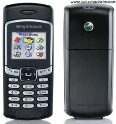 SONY ERICSSON T290I, primeiro celular.
