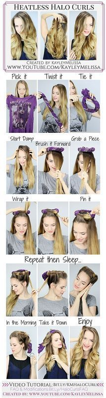 DIY Cool Easy Hairstyles That Real People Can Actually Do at Home!