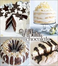 White Chocolate Desserts