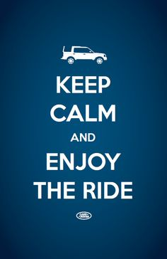 How do you keep calm and enjoy the ride on long road trips? #Landrover