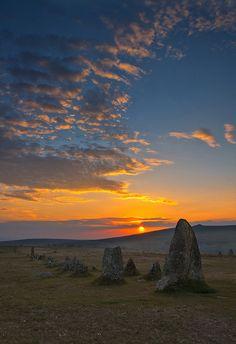 Merrivale Stone Rows, Dartmoor by Jack Breadmore Photography, via Flickr