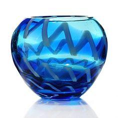 "Evolution by Waterford® Cobalt Rush 4.5"" Glass Votive"