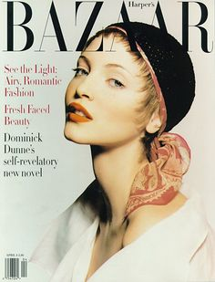 Bazaar April 1993 - Nadja Auermann