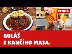 PENNY - Guláš z kančího masa - YouTube Beef, Youtube, Food, Meat, Essen, Meals, Youtubers, Yemek, Youtube Movies