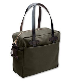Filson Otter Green Zipper Tote Bag FIL-70261-OT
