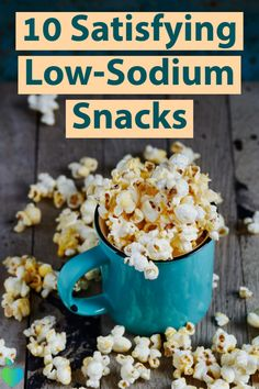 in a healthy way with these low-sodium options. in a healthy way with these low-sodium options. Low Sodium Diet Plan, Low Sodium Snacks, No Sodium Foods, Low Sodium Recipes, Low Salt Snacks, Avocado Smoothie, Heart Healthy Snacks, Healthy Drinks, Low Salt Recipes