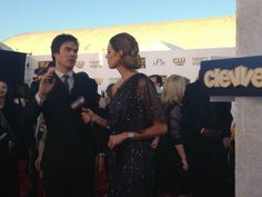 Ian Somerhalder on the red carpet of 19th Annual Critics' Choice Movie Awards (January 16, 2014)