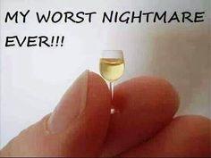 My worst Nightmare too! t's recently been one more wine-filled yr on the VinePair HQ, Wine Jokes, Wine Meme, Wine Funnies, Funny Wine, Just Wine, Wine And Beer, Liquor List, Liquor Store, Buy Wine Online