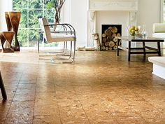 Awesome Cork Floor In Basement