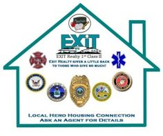 Exit Realty Raeford wants to say thank you to our local heroes; fireman, law enforcement officials, emergency medical technicians, 911 dispatchers, military personnel, teachers and faculty members by offering a Rebate when buying or selling a house with Exit Realty 1ST Class II of Raeford.  Ask for a participating agent at Exit Realty Raeford to represent you in your real estate transaction and receive a closing rebate of .5% of the sales price.   Purchase Price $180000 x .5% = $900