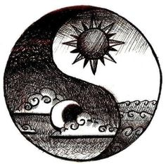 Yin becomes yang, and yang becomes yin