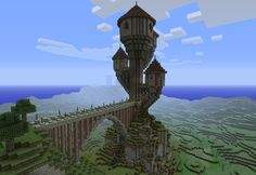 Minecraft Tower | Medieval Wizards Tower Minecraft Project ...