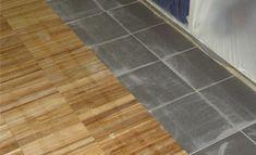Leggen Houten Vloer : Houten vloer leggen op tegels of plavuizen vloeren stofferen