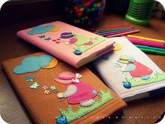 Capas para caderno... | Flickr - Photo Sharing!