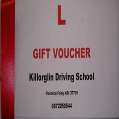 Gift Vouchers from Driving Theory Road Test Instructor in Kerry Driving Theory, Driving Instructor, Learning To Drive, Driving School, Gift Vouchers, Gifts, Presents, Favors, Gift