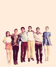 Teen Wolf cast. ♥