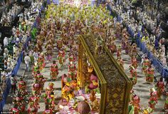The many shades of Mangueira samba school, who are the oldest of the competing Rio samba s...