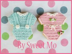 baby bodysuit cookies galletas body de bebe