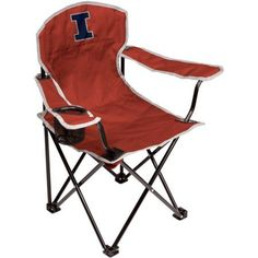 Ncaa Illinois Fighting Illini Youth Size Tailgate Chair from Coleman by Rawlings, Multicolor