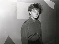 Jodie Foster - Yale undergrad, 1984.