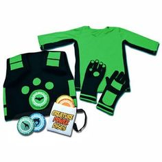 Wild Kratts Power Suit (dress up like her favorite tv character-- pbs animal rescue team) she is a size 8 or 9