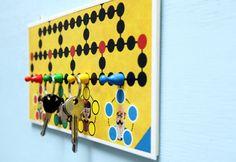 Cool :) Alte Spiele als Schlüsselbrett