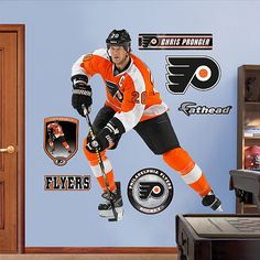 Chris Pronger, Philadelphia Flyers... I wish they had a Lindros one when I was younger