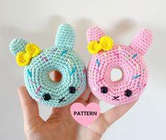 Bunny Donuts PDF Pattern amigurumi crochet