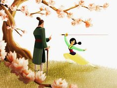 """My Mulan piece, """"Her Father's Daughter"""", will be available starting this Saturday (Nov 15th) at Disney WonderGround Gallery and I will be at the gallery for the art release and signing from 11a-1p. Please stop by if you are in the area :) For more info, please visit: http://disneyparksmerchandise.com/events/artist-showcase-with-jasmine-becket-griffith-jeff-granito-sydney-hanson-and-jerrod-maruyama/?instance_id"""