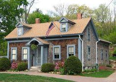 Lucinda Manning House  1860 Cape Cod  Chelmsford, Massachusetts