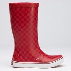 Vans Rainboots! Eeek!