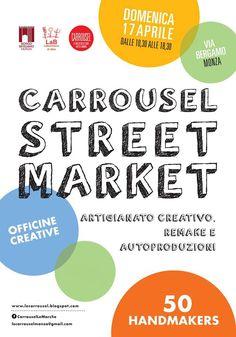Carrousel Street Market 17 aprile Monza 2016