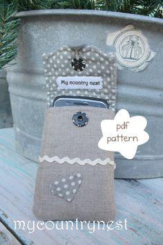 Pattern Smartphone case  Phone case pdf pattern by Mycountrynest, €7.50