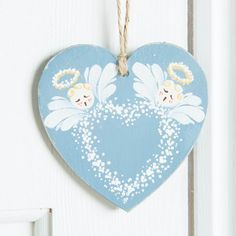 Angelic #folkart design made from the Folk It range. Shop the range now: http://www.createandcraft.tv/search/folk%20it?fh_location=//CreateAndCraft/en_GB/$s=folk%20it&gs=folk%20it #homedecor #upcycle