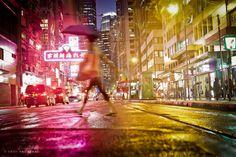 Walking Through Rain by Andi Andreas on Travel Photography, Rain, Walking, Concert, Hong Kong, Rain Fall, Walks, Concerts, Waterfall