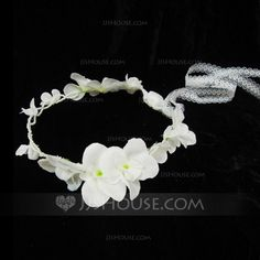Headpieces - $9.99 - Lovely Pearl Lace Flowers Headbands (042026132) http://jjshouse.com/Lovely-Pearl-Lace-Flowers-Headbands-042026132-g26132?ver=1