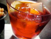 """The Negroni: So, besides being fun to say, this drink sounds delicious. """"crisply bitter"""""""