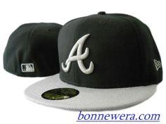 Pas Cher Casquettes Atlanta Braves Fitted 0073 - Acheter MLB Casquettes En Linge - €15.99