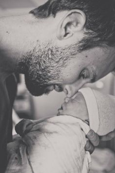 Nothing lovelier or sexier than a man loving his child!